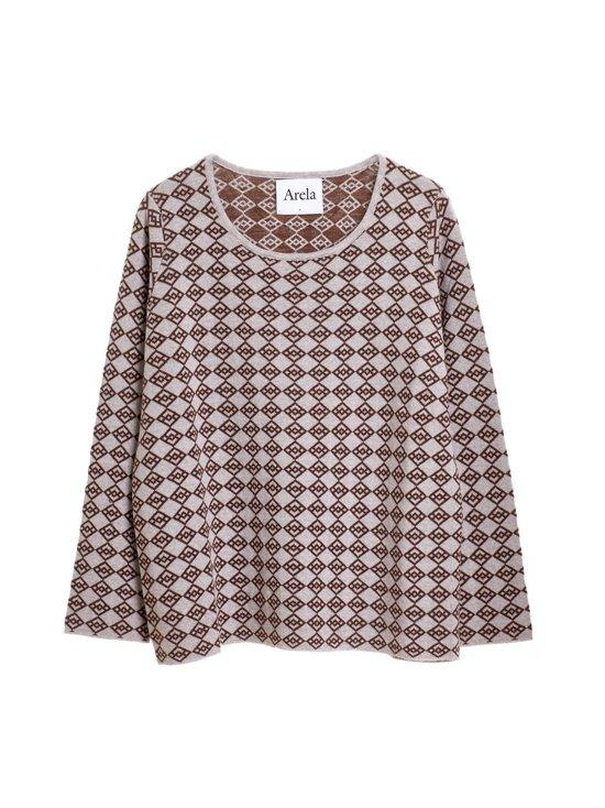 Edie Symbol Sweater -merinovillaneule