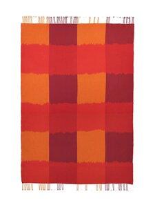 Marimekko - Ostjakki-huopa 120 x 185 cm - 320 RED, ORANGE, BROWN | Stockmann