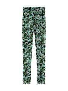 Ganni - Mesh-leggingsit - 801 KELLY GREEN | Stockmann