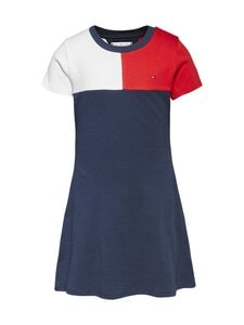 Tommy Hilfiger - Stripe Rib -mekko - C87 TWILIGHT NAVY | Stockmann