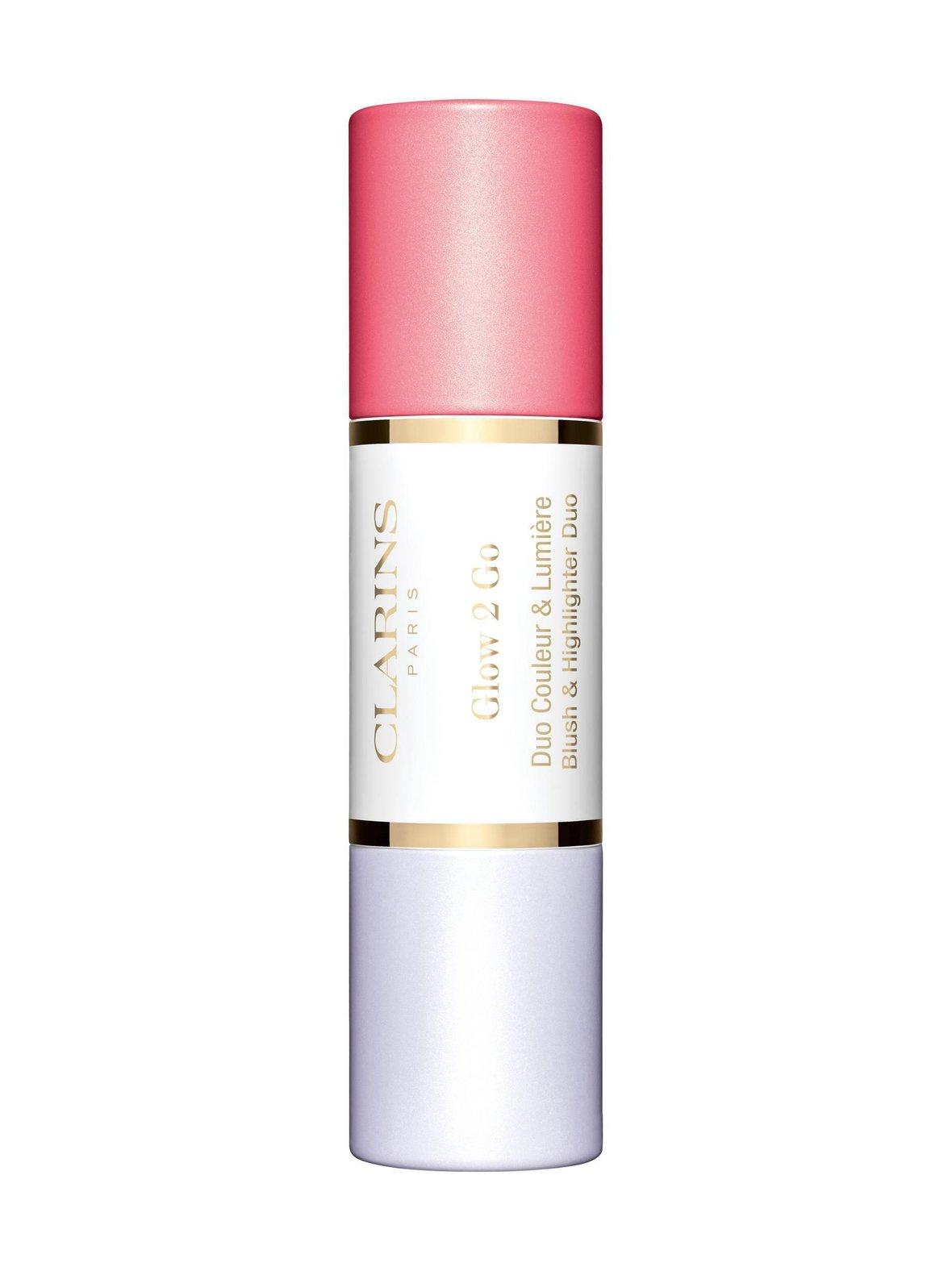 Clarins – Glow 2 Go Blush & Highlighting Duo -poskipunapuikko