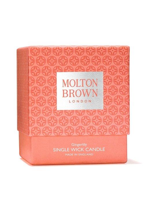Molton Brown - Gingerlily Single Wick Candle -tuoksukynttilä 180 g - 3 | Stockmann - photo 4