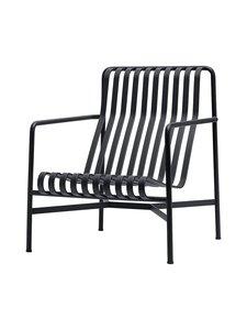 HAY - Palissade Lounge Chair High -lepotuoli 73 x 92 cm - ANTHRACITE (HIILENHARMAA) | Stockmann