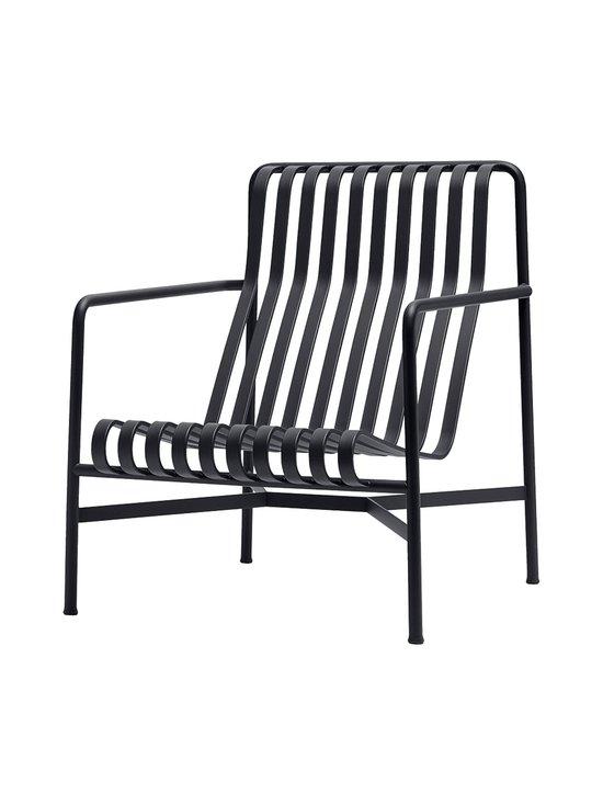 HAY - Palissade Lounge Chair High -lepotuoli 73 x 92 cm - ANTHRACITE (HIILENHARMAA)   Stockmann - photo 1