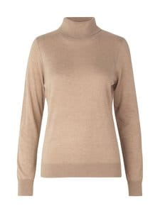 SECOND FEMALE - Felina Knit T-Neck -neule - 6030 GINGER ROOT | Stockmann