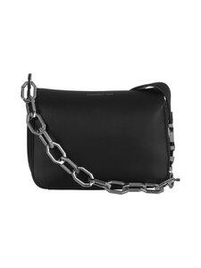 Karl Lagerfeld - K/Letters Small Shoulder Bag -nahkalaukku - A999 BLACK   Stockmann