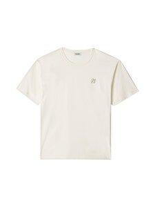 Nanushka - Reece T-Shirt -paita - 971 CREME | Stockmann