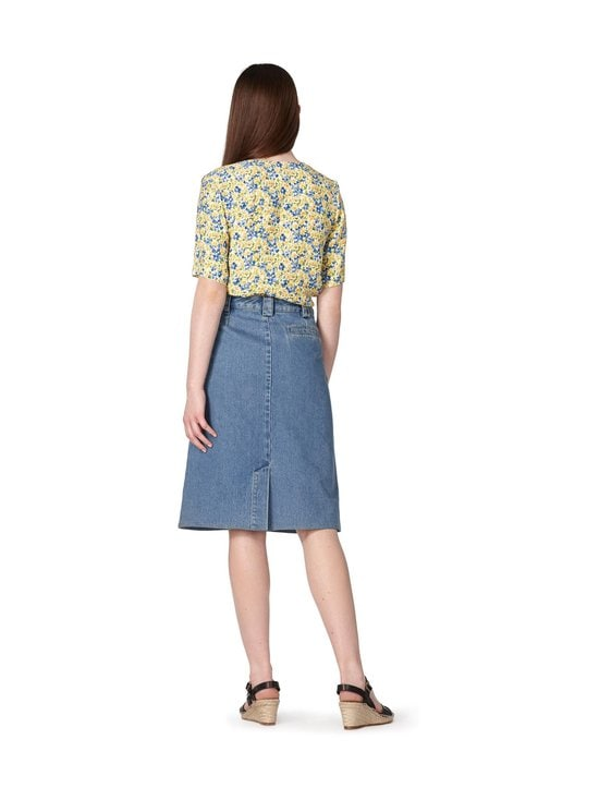 A.P.C - Lina Blouse -pusero - JAUNE CLAIR | Stockmann - photo 3