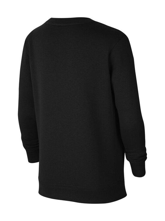 Nike - Logo Club Fleece Neon Logo -collegepaita - BLACK/BARELY VOLT   Stockmann - photo 2