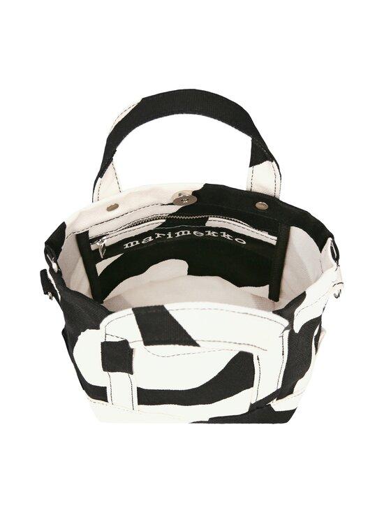 Marimekko - Pikku Peruskassi Linssi -laukku - 910 BLACK, WHITE | Stockmann - photo 4