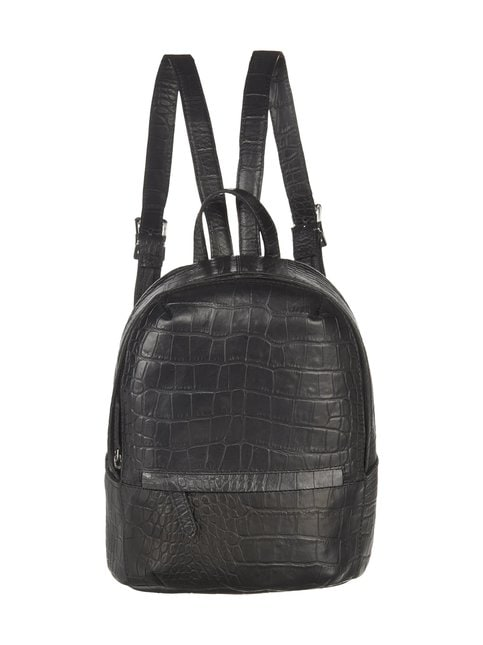Sack Croco Backpack Petite -nahkareppu