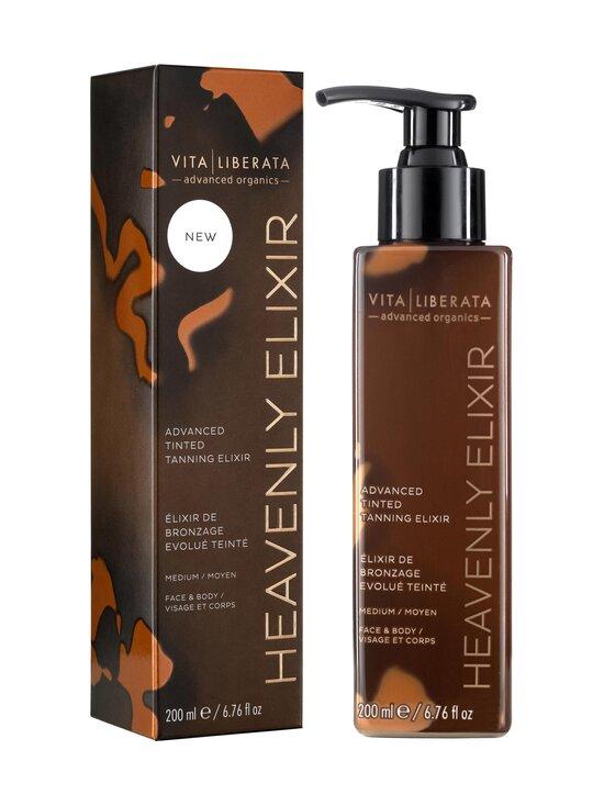 Vita Liberata - Heavenly Elixir Advanced Tinted Tanning Elixir -itseruskettava eliksiiri 200 ml - MEDIUM | Stockmann - photo 1