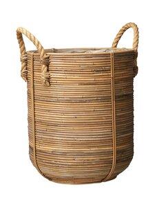 Wikholm Form - Rattan Basket L -rottinkikori 38 x 45+9 cm - NATURAL   Stockmann