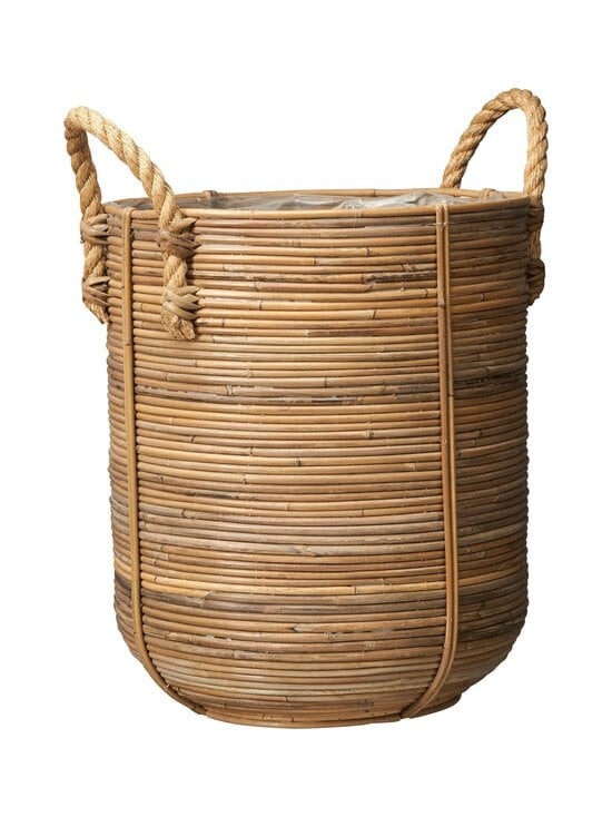 Wikholm Form - Rattan Basket L -rottinkikori 38 x 45+9 cm - NATURAL   Stockmann - photo 1