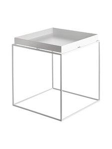 HAY - Tray-pöytä 40 x 40 x 44 cm - VALKOINEN | Stockmann