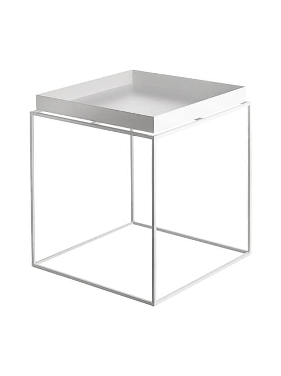 HAY - Tray-pöytä 40 x 40 x 44 cm - VALKOINEN | Stockmann - photo 1