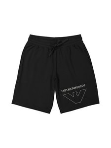 Emporio Armani - Bermuda-pyjamashortsit - 00020 BLACK | Stockmann