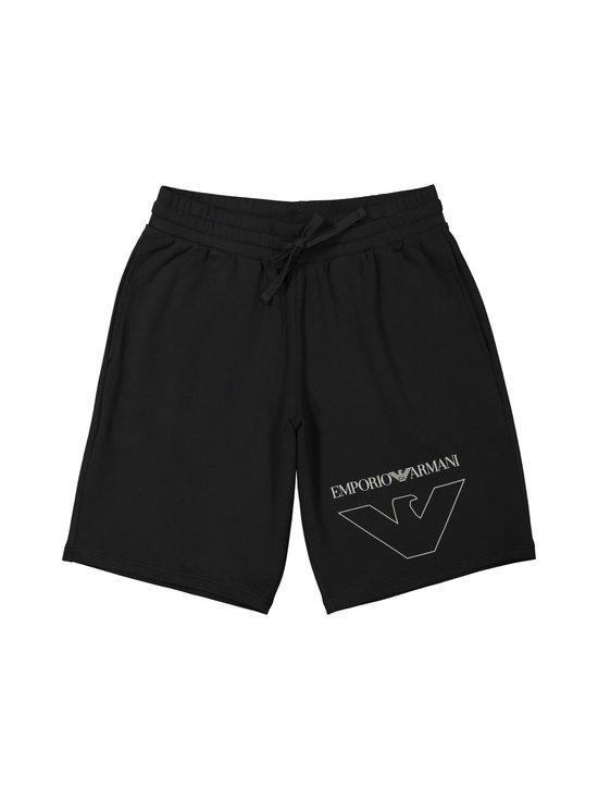 Emporio Armani - Bermuda-pyjamashortsit - 00020 BLACK | Stockmann - photo 1