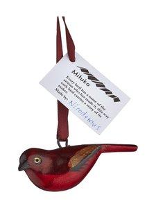 Mifuko - Ruusupeippo-joulukoriste - VIININPUNAINEN | Stockmann