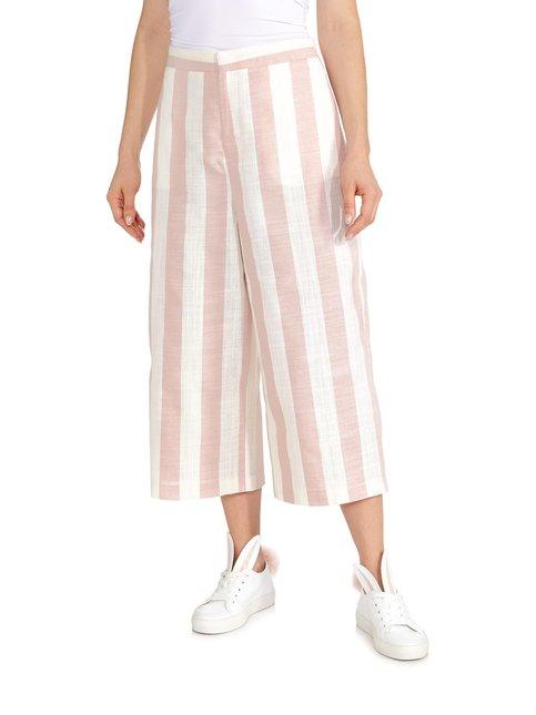 OnlNanna Stripe Wide Crop -housut