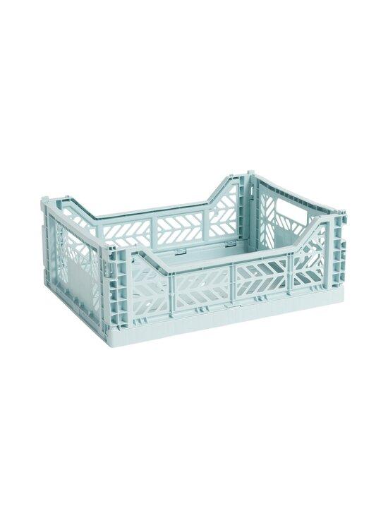 HAY - Colour Crate M -laatikko 40 x 30 x 14,5 cm - ARCTIC BLUE   Stockmann - photo 1