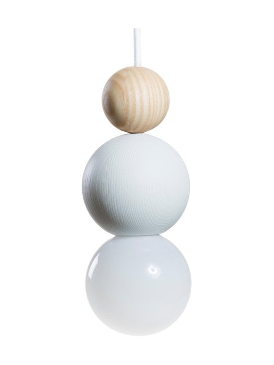 QUU Design - Medium WN -riippuvalaisin 9,5 x 15,5 cm - WHITE/NATURAL | Stockmann - photo 1