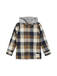 Name It - NKMLELIAM LS Shirt -paita - STONE GRAY   Stockmann