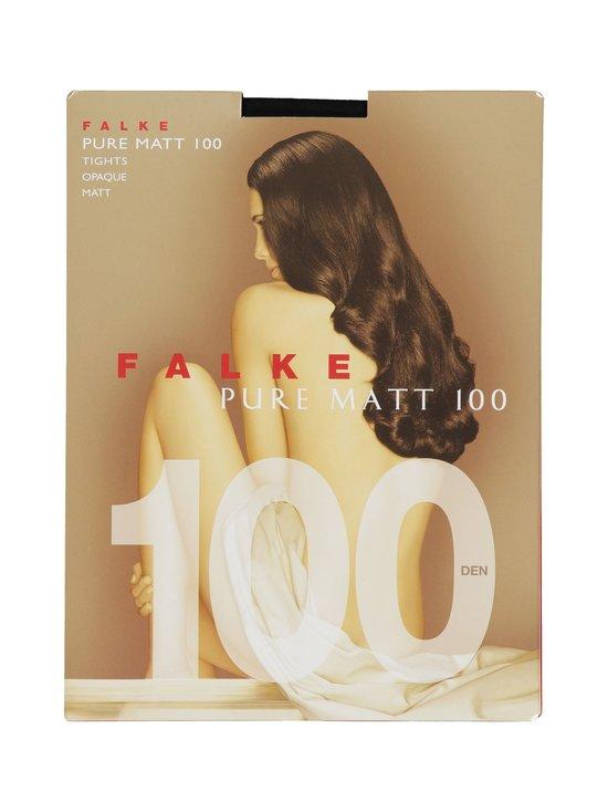 Falke - Pure Matt 100 den -sukkahousut - BLACK (MUSTA) | Stockmann - photo 1