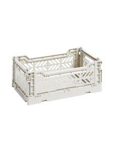 HAY - Colour Crate S -laatikko 26,5 x 17 x 10,5 cm - LIGHT GREY | Stockmann
