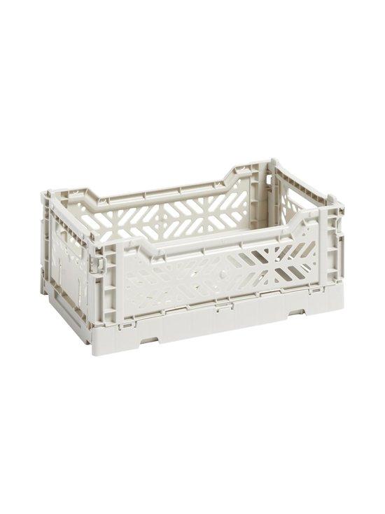 HAY - Colour Crate S -laatikko 26,5 x 17 x 10,5 cm - LIGHT GREY | Stockmann - photo 1