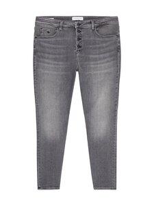 Calvin Klein Jeans Plus - HIGH RISE SKINNY ANKLE PLUS -farkut - 1BZ DENIM GREY   Stockmann