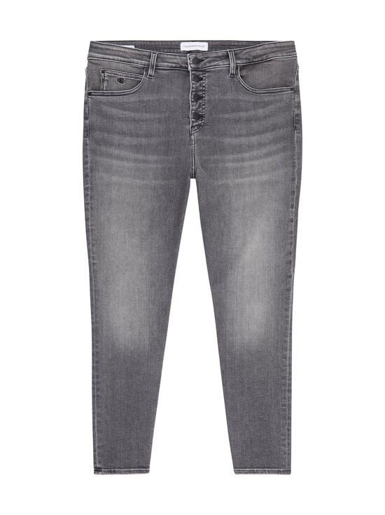 Calvin Klein Jeans Plus - HIGH RISE SKINNY ANKLE PLUS -farkut - 1BZ DENIM GREY | Stockmann - photo 1