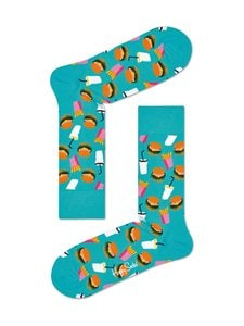 Happy Socks - Hamburger-sukat - TURQSE | Stockmann