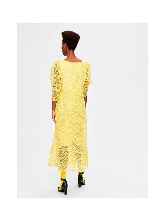 Selected - SlfMya LS Ankle Dress -mekko - GREEN SHEEN | Stockmann - photo 2