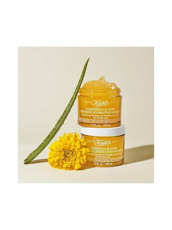 Kiehl's - Calendula & Aloe Soothing Hydration Masque -kasvonaamio 100 ml - null | Stockmann - photo 2