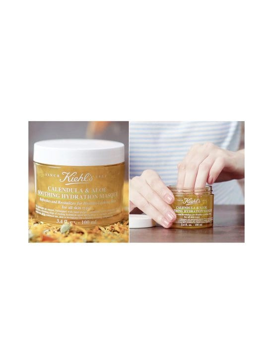 Kiehl's - Calendula & Aloe Soothing Hydration Masque -kasvonaamio 100 ml - null | Stockmann - photo 3