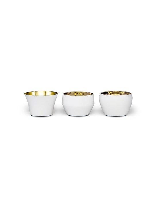Skultuna - Kin-kynttilälyhty 3 kpl - WHITE/BRASS   Stockmann - photo 1