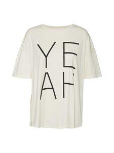Noisy may - NmmMarta SS Oversized T-shirt -paita - EGGNOG PRINT:YEAH IN BLACK | Stockmann