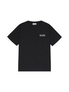 Ganni - Ohut Thin Software Jersey T-paita - 099 BLACK | Stockmann