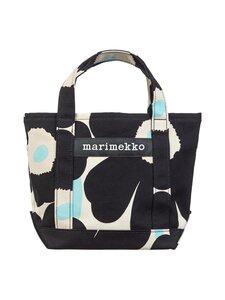 Marimekko - Seidi Pieni Unikko 2 -laukku - 895 OFF WHITE, BLACK, LIGHT BLUE   Stockmann