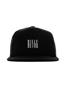 BILLEBEINO - Kids Billebeino Cap -lippalakki - BLACK WHITE TEXT | Stockmann
