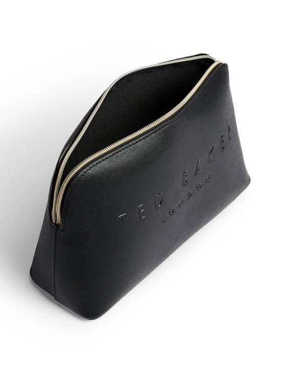Ted Baker London - LOTTIEY Crosshatch Debossed Washbag -meikkilaukku - 00 BLACK | Stockmann - photo 3