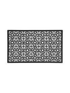 Dixie - Square Rubber Door -kynnysmatto - BLACK | Stockmann