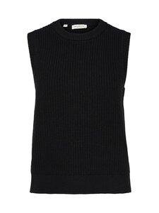 Selected - SlfJos Knit Vest -villasekoiteneuleliivi - BLACK | Stockmann