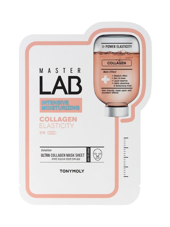 TONYMOLY - Master Lab Sheet Mask Collagen -kasvonaamio - NOCOL | Stockmann - photo 1