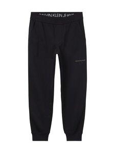 Calvin Klein Jeans - Off Placed Iconic Pant -collegehousut - BEH CK BLACK   Stockmann