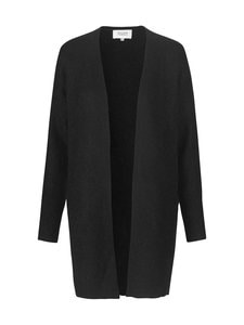 SECOND FEMALE - Brook Knit New Pocket Cape -neuletakki - 8001 BLACK | Stockmann