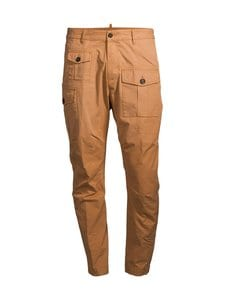 Dsquared - Cotton Sexy Cargo -housut - 164 OCHER | Stockmann