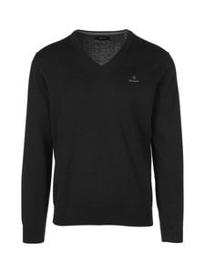 GANT - Puuvillaneule - 5 BLACK | Stockmann