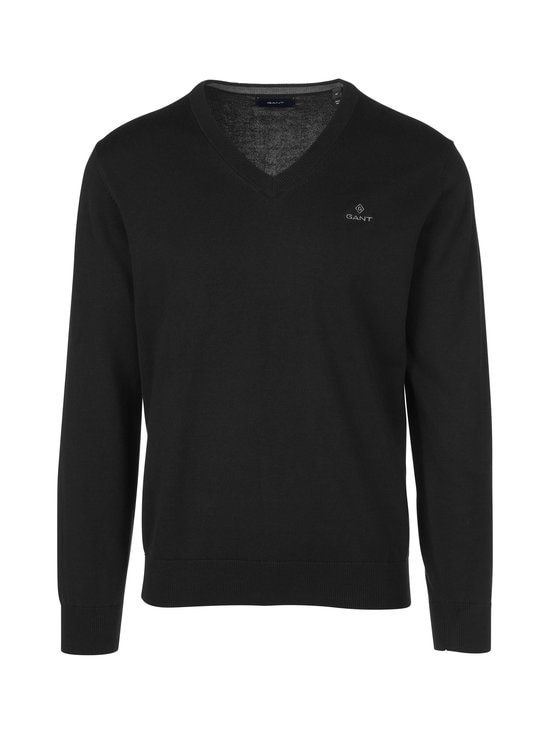 GANT - Puuvillaneule - 5 BLACK | Stockmann - photo 1
